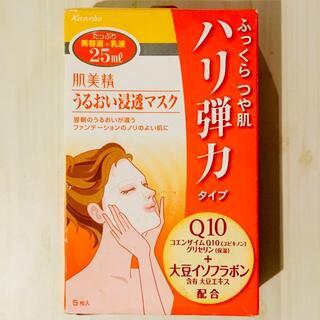 カネボウ(Kanebo)の【5枚】肌美精 うるおい浸透マスクハリ弾力タイプ(パック/フェイスマスク)