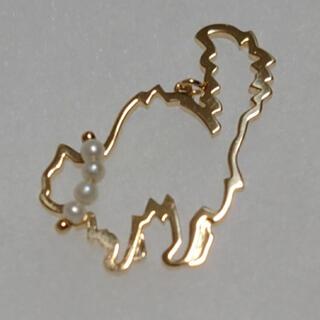 タサキ(TASAKI)の田崎真珠 タサキ TASAKI K18 750 ネコモチーフ ペンダントトップ(ネックレス)