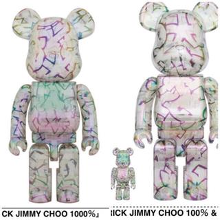 MEDICOM TOY - BE@RBRICK JIMMY CHOO 1000%、100% & 400%