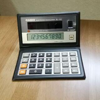 カシオ(CASIO)のCASIO 折り畳み ソーラー 電卓 SL-110(その他)