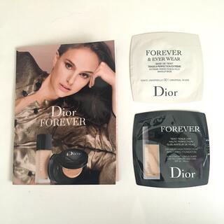 ディオール(Dior)のディオールスキン フォーエヴァー&エヴァーベース、フルイドマット2N サンプル(サンプル/トライアルキット)