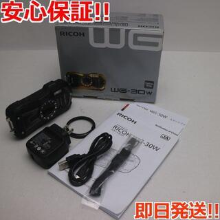 リコー(RICOH)の美品 WG-30W カーボングレー (コンパクトデジタルカメラ)