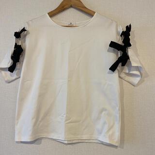 ランバンオンブルー(LANVIN en Bleu)のランバン Tシャツ LANVIN(Tシャツ(半袖/袖なし))