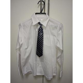 キッズ 白 シャツ size130