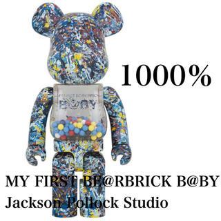 メディコムトイ(MEDICOM TOY)のMY FIRST BE@RBRICK B@BY Jackson Pollock(フィギュア)