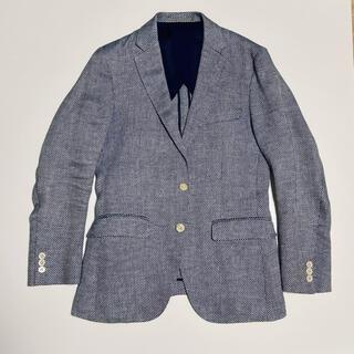 アダムエロぺ(Adam et Rope')のWild Life Tailor リネン100% テーラードジャケット 44(テーラードジャケット)