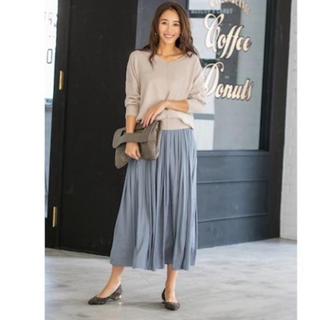 スタイルデリ(STYLE DELI)の新品、未使用 スタイルデリ サテンロングギャザースカート&ミニボストンバッグ(ロングスカート)
