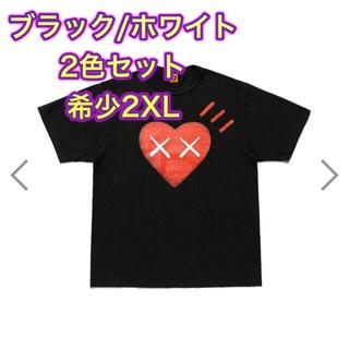 シュプリーム(Supreme)のHUMANMADE KAWS ヒューマンメイド カウズTシャツ 2XL 2セット(Tシャツ/カットソー(半袖/袖なし))