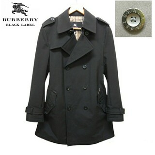 BURBERRY BLACK LABEL - 極美品 BURBERRY バーバリー トレンチコート ノバチェック L