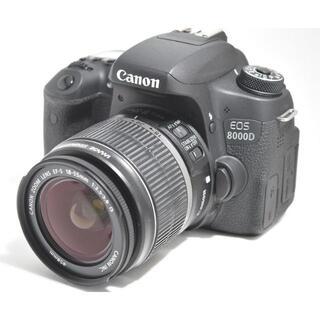 Canon - Canon EOS 8000D★一眼レフ ハイエンドモデル WiFi転送対応★