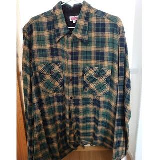 HOLLYWOOD RANCH MARKET - ハリウッドランチマーケット チェックシャツ