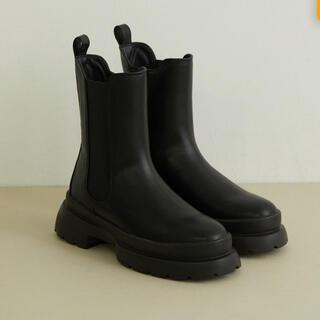 ViS - JUZE 【軽量】やわらかな履き心地。トラックソールサイドゴアブーツ