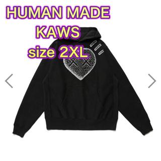シュプリーム(Supreme)のHUMANMADE KAWS ヒューマンメイド カウズ スウェット2XL(パーカー)