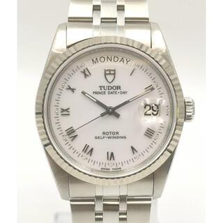 チュードル(Tudor)のTUDOR チュードル76124 プリンス デイトデイ ローマ K18WG/SS(腕時計(アナログ))
