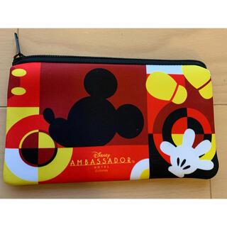 Disney - ディズニー リゾート バケーションパッケージ パスケース 財布 7個 ポーチ付き