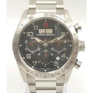 チュードル(Tudor)のTUDOR チュードル 42000 ファストライダー クロノグラフ 時計 美品(腕時計(アナログ))