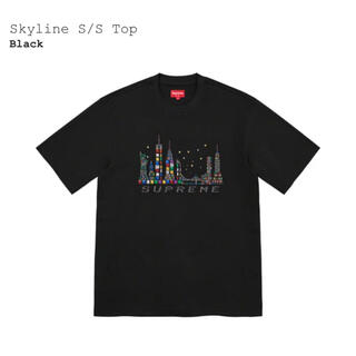 Supreme - XLサイズ Supreme Skyline S/S Top Black