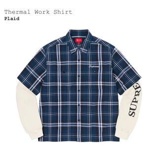 Supreme - Mサイズ Supreme Thermal Work Shirt Plaid