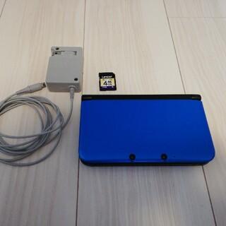 ニンテンドー3DS - ニンテンドー3DS LL ACアダプタ・SDHC 4GBメモリーカード付き