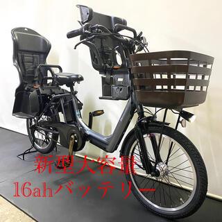 電動自転車 パナソニック ギュットアニーズ 20インチ 16ah 新型バッテリー