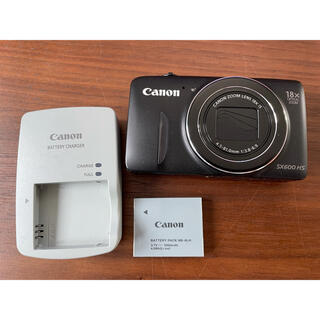Canon - Canon PowerShot SX POWERSHOT SX600 HS BK