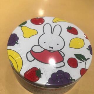 スチームクリーム(STEAM CREAM)の新品☆スチームクリーム限定デザイン缶 ミッフィー&フルーツ(ボディクリーム)