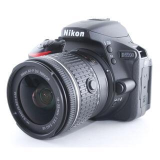 Nikon - ニコン D5500 レンズキット★本格一眼レフ WiFi対応 保証付き★
