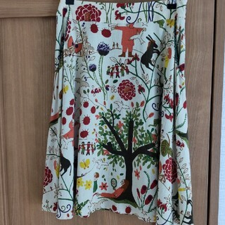 ホコモモラ(Jocomomola)のJocomomolaスカート size40(ひざ丈スカート)