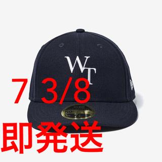 ダブルタップス(W)taps)のWTAPS 59FIFTY NEWERA NAVY M 7 3/8 ニューエラ(キャップ)