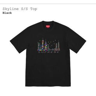 シュプリーム(Supreme)のsupreme  「skyline S/S TOP」Mサイズ(Tシャツ/カットソー(半袖/袖なし))