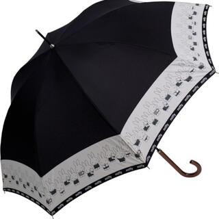 ◆2022新作◆【miffy】婦人用耐風雨傘☆ミッフィー切継ぎ☆60cm☆黒