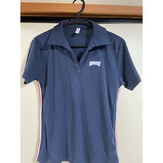 フィラ(FILA)のconverse 紺ポロシャツ レディース(ポロシャツ)