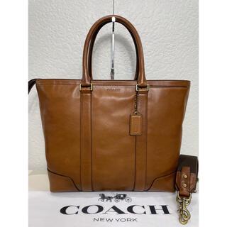 コーチ(COACH)の格安 定価8.4万 良品 コーチ ビジネス 2way バッグ レザー メンテ済み(ビジネスバッグ)