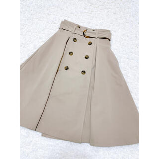 ダズリン(dazzlin)の【美品】dazzlin トレンチスカート(ひざ丈スカート)
