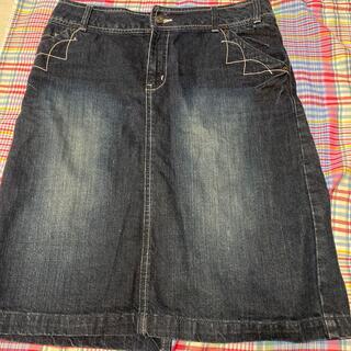 フェリシモ(FELISSIMO)のフェリシモ デニムスカート(ひざ丈スカート)
