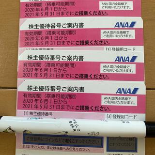 ANA(全日本空輸) - ANA株主優待券4枚セット
