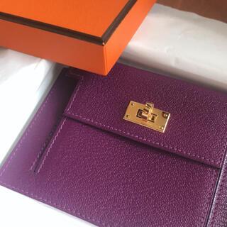 Hermes - HERMES 財布 《ケリー・ポケット》   コンパクト アネモネ