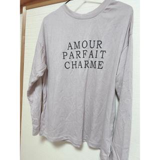 グレイル(GRL)のサイドスリット入りロンT(Tシャツ(長袖/七分))