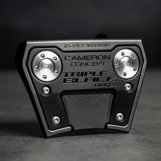 Scotty Cameron - PHANTOM X 9.5 TRIPLE BLACK 33inch ファントムX