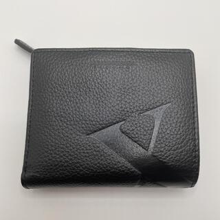 バツ(BA-TSU)の未使用メンズバツ MEN'S BA-TSU 2つ折財布 黒 レザー(折り財布)
