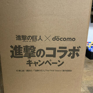 エヌティティドコモ(NTTdocomo)の進撃の巨人 フィギュア ミカサ docomo(アニメ/ゲーム)