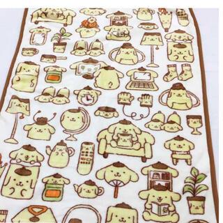 サンリオ(サンリオ)のサンリオ ポムポムプリン ハーフ 毛布(毛布)