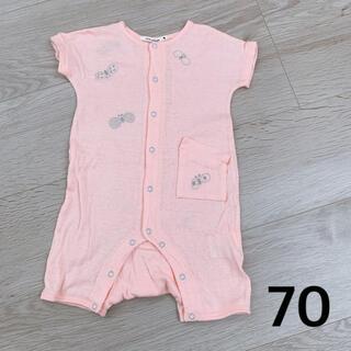 mina perhonen - ミナペルホネン 半袖 ロンパース 70