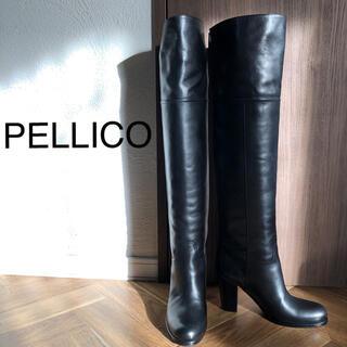 PELLICO - ⭐︎新品⭐︎PELLICO 黒ロングブーツ  36