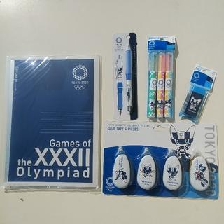 コクヨ(コクヨ)のミライトワ文具5点セット オリンピック 東京2020公式ライセンス商品(ファイル/バインダー)