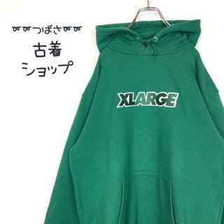 XLARGE - 【人気カラー】X-LARGE パーカー 古着 刺繍 ストリート 90s L