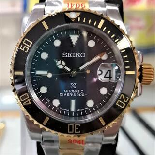 SEIKO -  ■新品■SEIKOセイコーダイバー個人カスタム品MODメンズ腕時計男性用自動巻