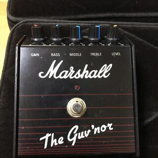 ギブソン(Gibson)の状態良好!Marshall The Guv'nor 英国製前期型vemuram(エフェクター)