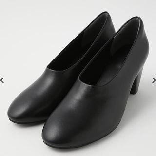 マウジー(moussy)の【新品】moussy CFT ROUND TOEパンプス22.5cm(ブーツ)