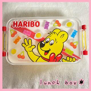 【新品未使用♡】お弁当箱 ランチボックス 箸 ハリボー HARIBO